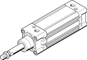 FESTO DNCB-40-160-PPV-A Normzylinder 532743