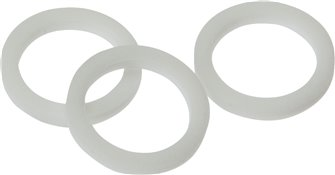 Gaskets made of PTFE for threads M 5