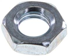 Hexagonal locknut M 12, Zinc plated steel