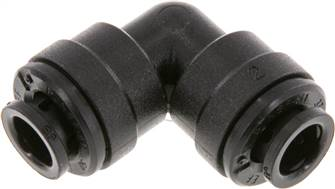 Elbow push-in fitting 6mm, IQS-FDA