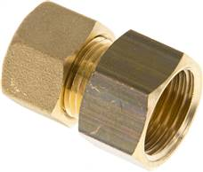 "Screw-compression ring fitting G 1/2""-12 (M18x1,5)mm, brass"
