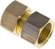 "Screw-compression ring fitting G 1/2""-15 (M20x1,5)mm, brass"