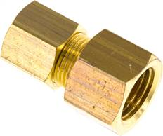 "Screw-compression ring fitting G 1/4""-8 (M12x1)mm, brass"