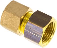 "Screw-compression ring fitting G 3/8""-10 (M16x1,5)mm, brass"