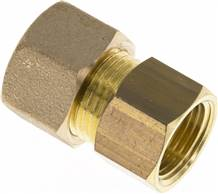"Screw-compression ring fitting G 3/8""-12 (M18x1,5)mm, brass"