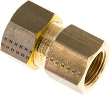 "Screw-compression ring fitting G 3/8""-15 (M20x1,5)mm, brass"