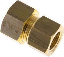 "Screw-compression ring fitting G 3/8""-16 (M22x1,5)mm, brass"