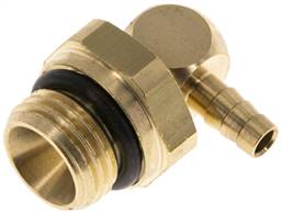 "Angle connector, G 1/4""-4mm inside, copper"