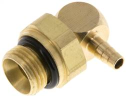 "Angle connector, G 1/8""-3mm inside, copper"