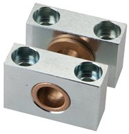 2 pcs. Bearing block for centre swivel fasten. 32 mm